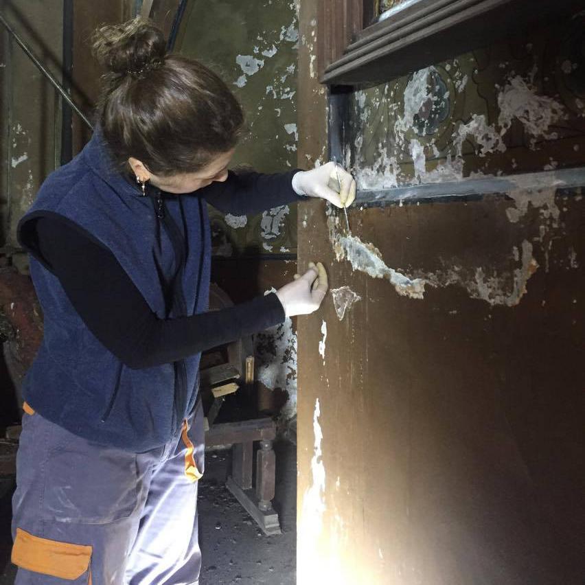 ბათუმის საკათედრო ტაძარში  კედლის მხატვრობის რესტავრაციისათვის მუშაობა დაიწყო (EN)