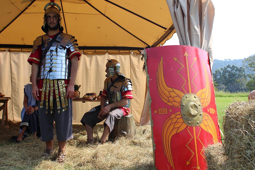 ღონისძიება  ,,რომაელი ჯარისკაცის ერთი დღე''