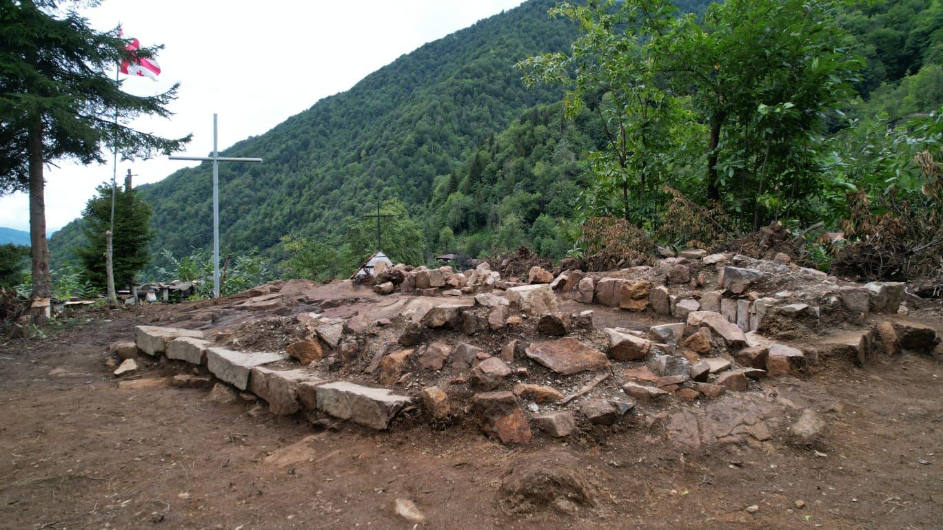 სოფელ ნამონასტრევში არქეოლოგიური სამუშაოები დასრულდა (RU)