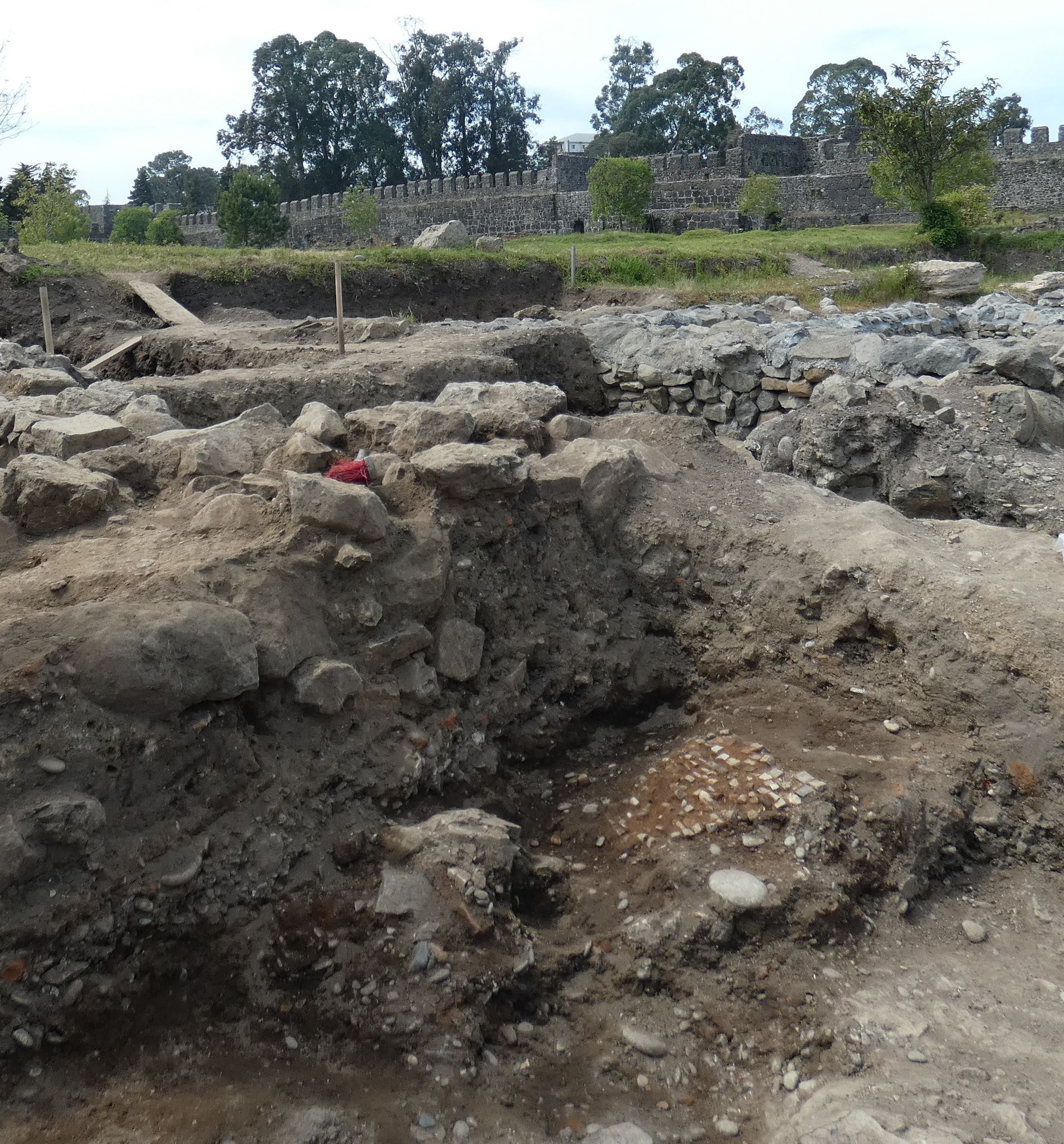 რომაული პერიოდის აფსაროსის ციხე-სიმაგრის ახალი აღმოჩენები