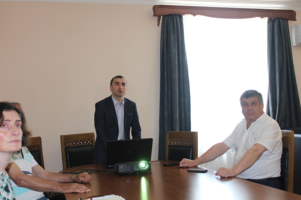 Meetings with Mayors of Kobuleti and Khelvachauri Municipalities