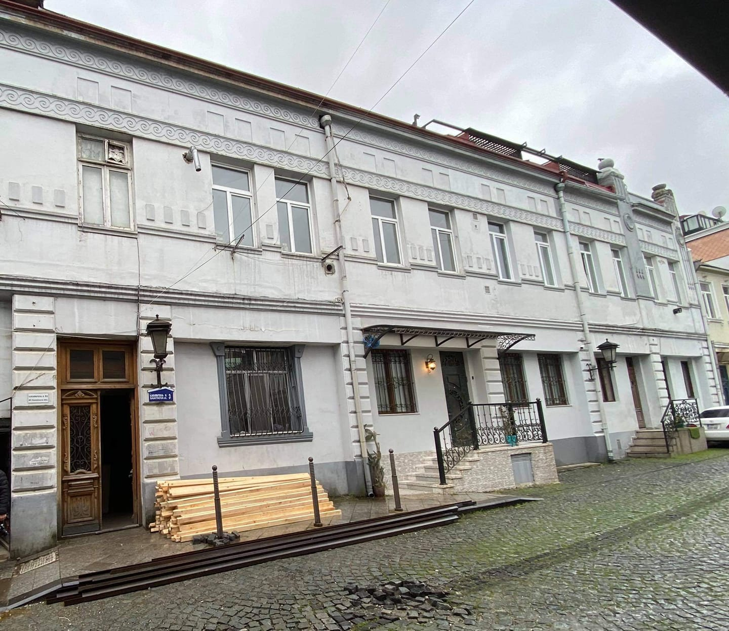 In old Batumi ,violation of a cultural heritage monument was revealed